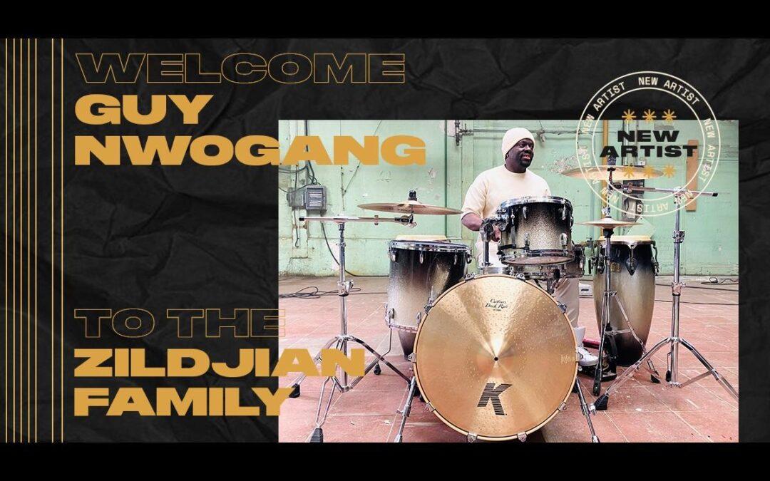 Guy Nwogang w rodzinie Zildjian