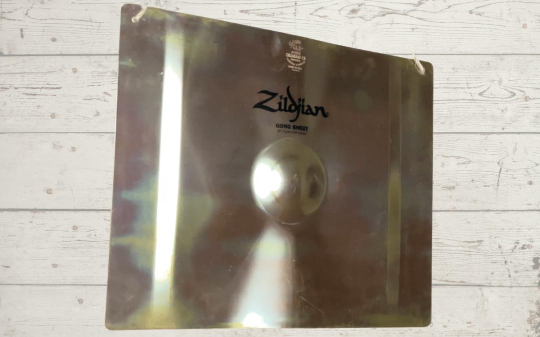 Test BeatIt: Zildjian FX Gong Sheet 20″ x 24″