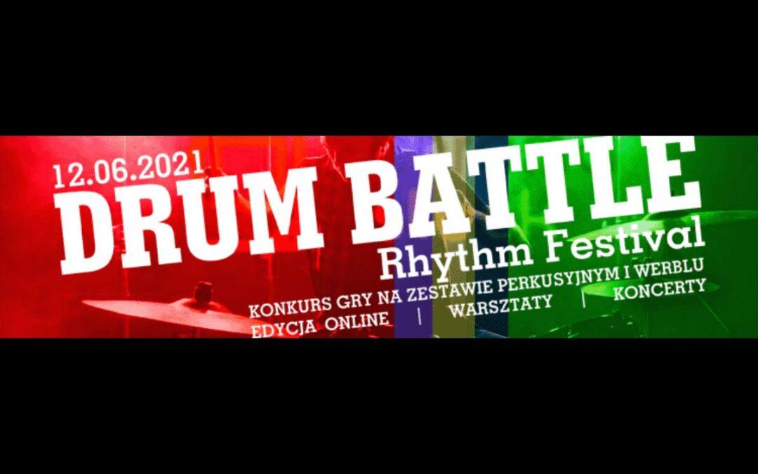 "XVI Festiwal Rytmu ""DRUM BATTLE – LEGNICA 2021"" – Konkurs!"