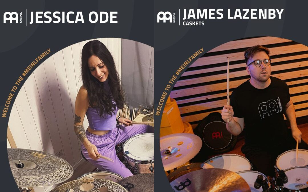Nowy endorserzy Meinl Cymbals!