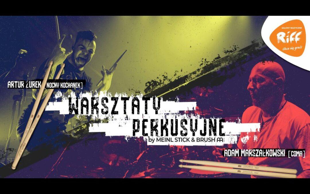 Warsztaty perkusyjne z Adamem Marszałkowskim i Adamem Żurkiem!