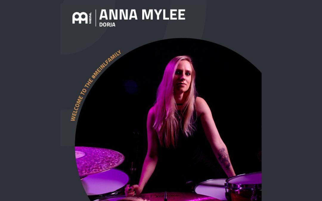Anna Mylee nową endorserką Meinl Cymbals