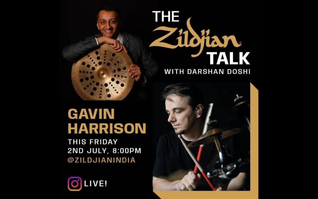 The Zildjian Talk: Gavin Harrison i Zildjian India