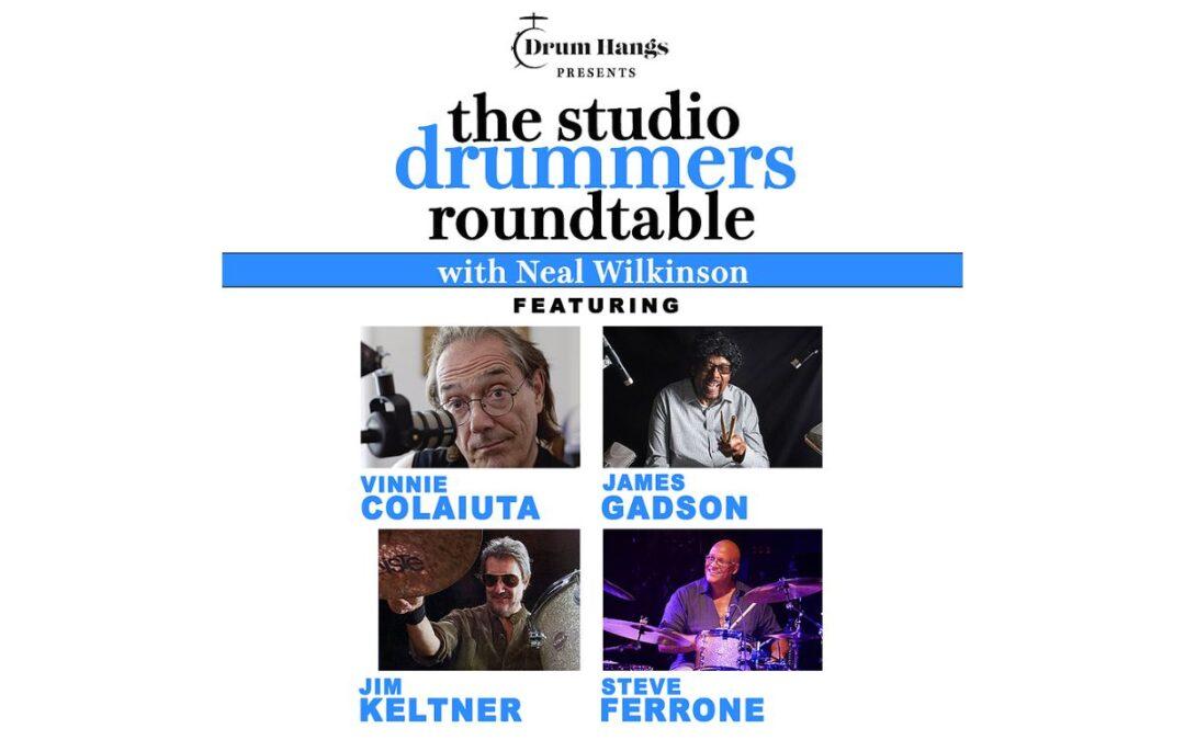 Drum Hangs prezentuje: Okrągły stół perkusistów studyjnych