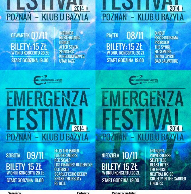 Emergenza festiwal startuje I runda