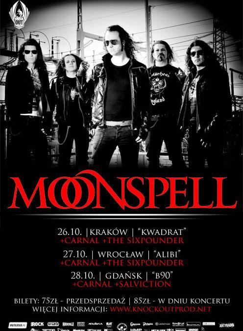Moonspell 3 razy w Polsce