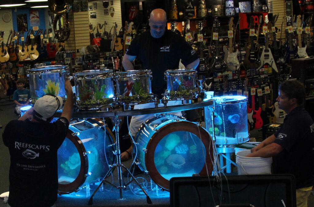 Perkusyjne akwarium