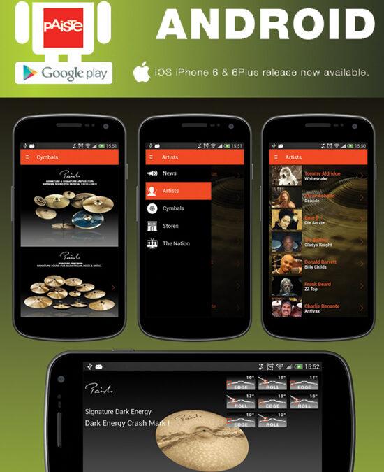Aplikacja Paiste